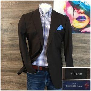 Tindari by Zegna Suit Jacket Sport Coat Wool